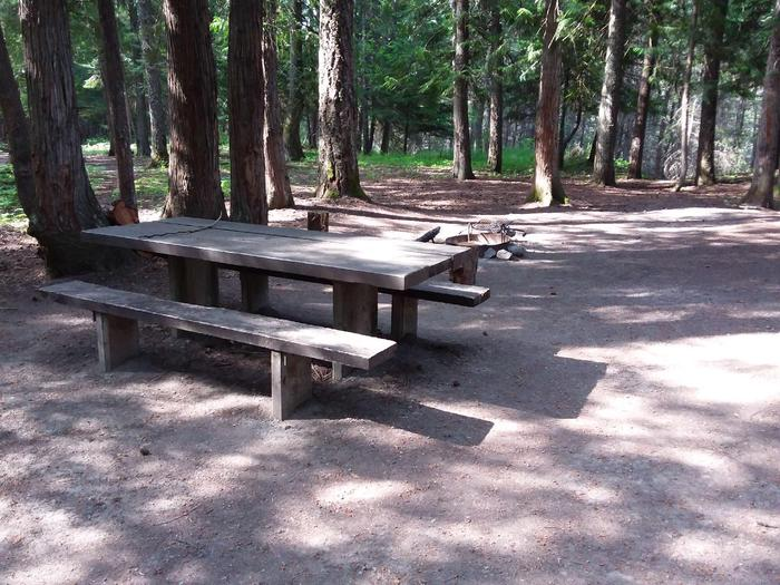 Yaak River Site 18-Table