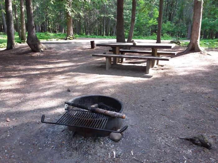 Yaak River Site 19-Fire Ring