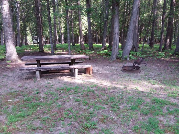 Yaak River Site 20-Table