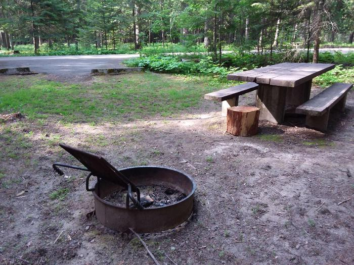 Yaak River Site 20-Fire Ring