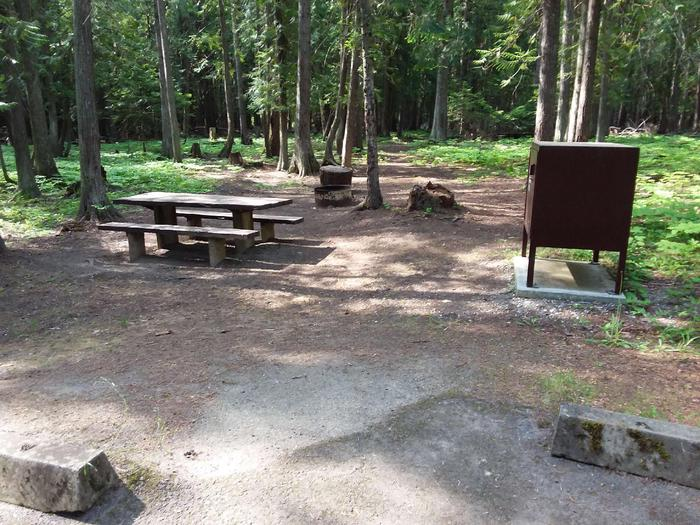 Yaak River Site 21-Table
