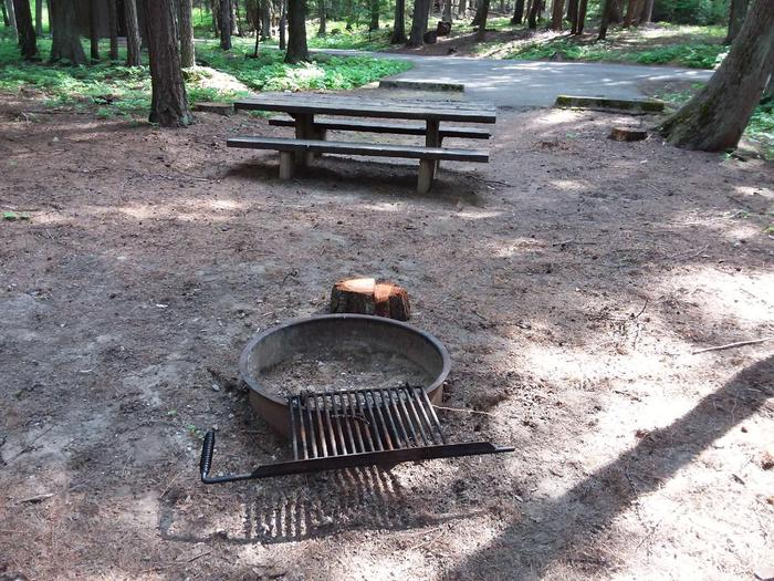 Yaak River Site 23-Fire Ring