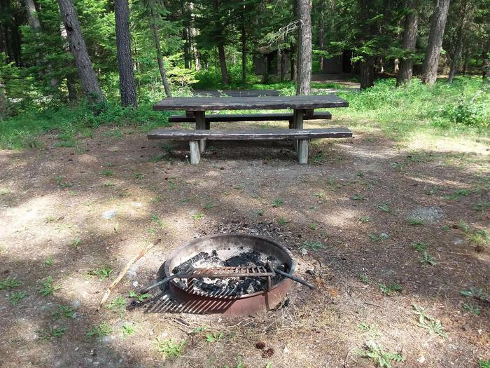Yaak River Site 28-Fire Ring