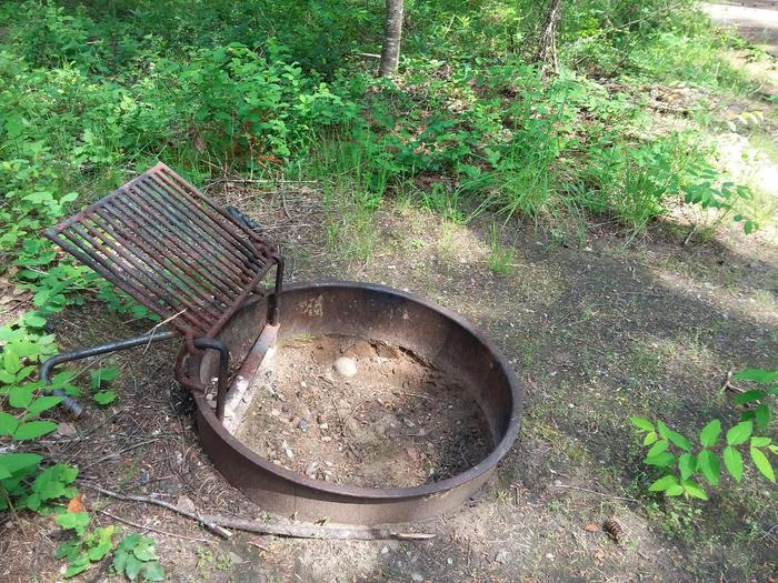 Yaak River Site 30-Fire Ring