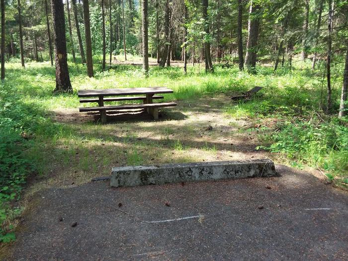 Yaak River Site 30-Table