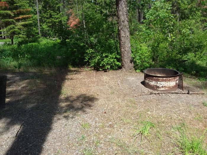 Yaak River Site 30B-Fire Ring