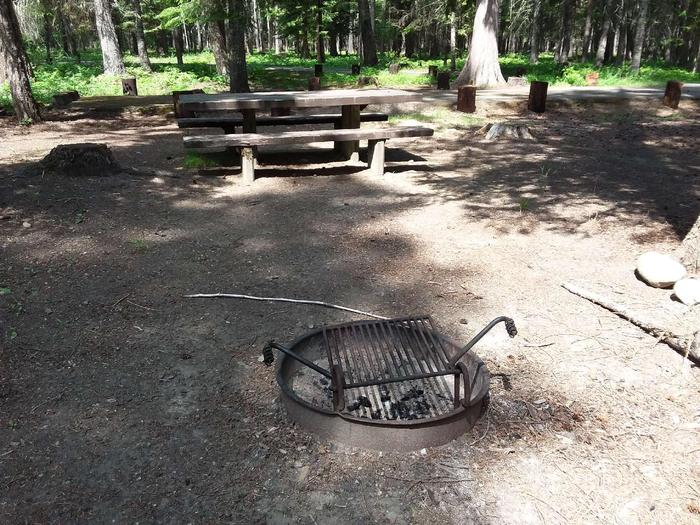 Yaak River Site 33-Fire Ring