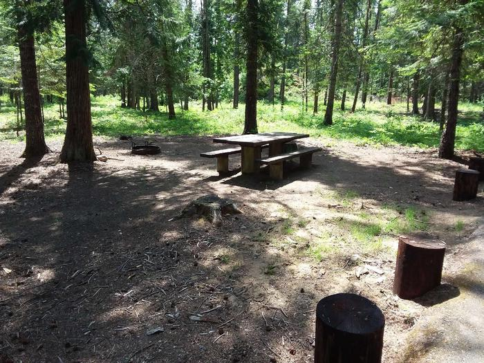 Yaak River Site 33-Table