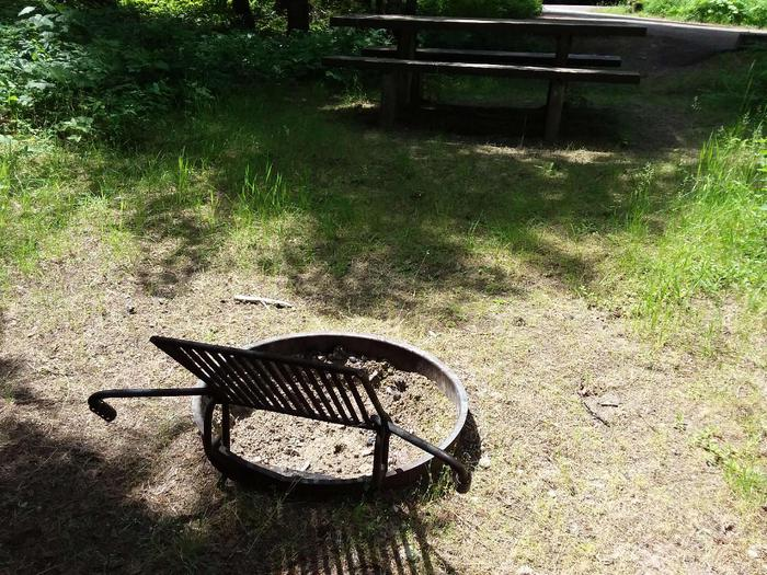 Yaak River Site 36-Fire Ring