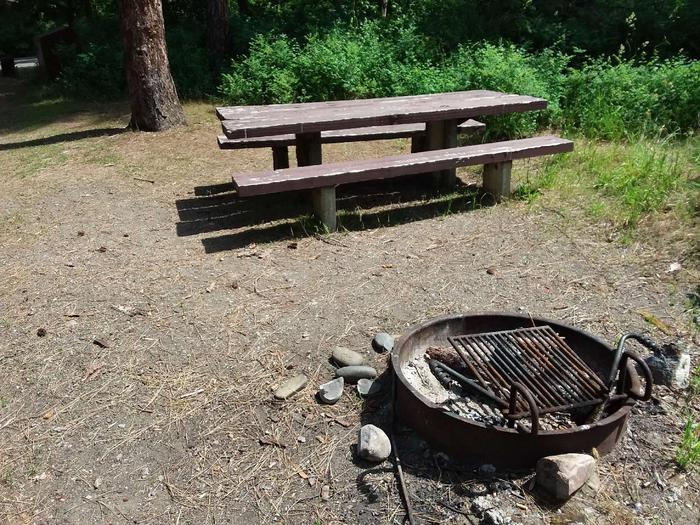 Yaak River Site 38-Fire Ring
