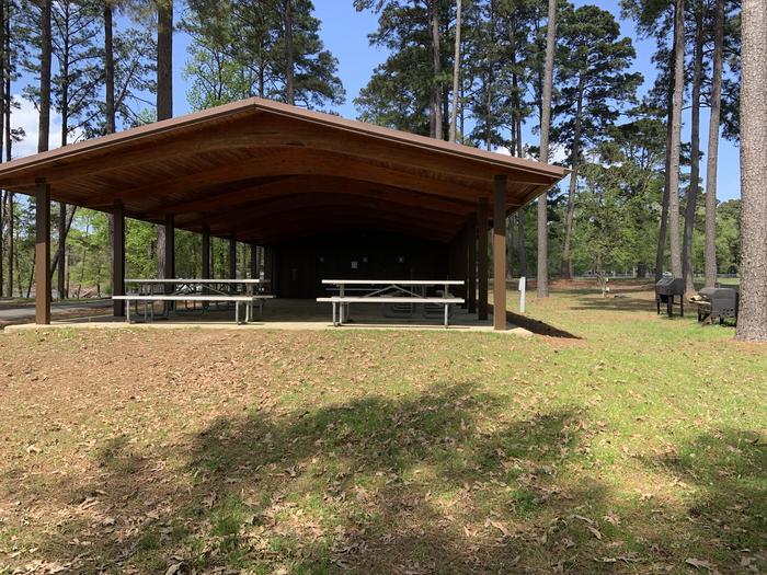 Alley Creek group camp pavilion
