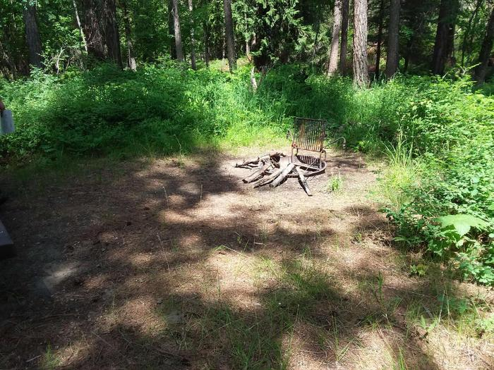 Yaak River Site 41-Fire Ring