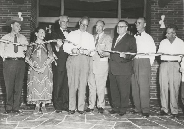 1958 DedicationThe 1958 dedication of the Mission 66 Visitor Center