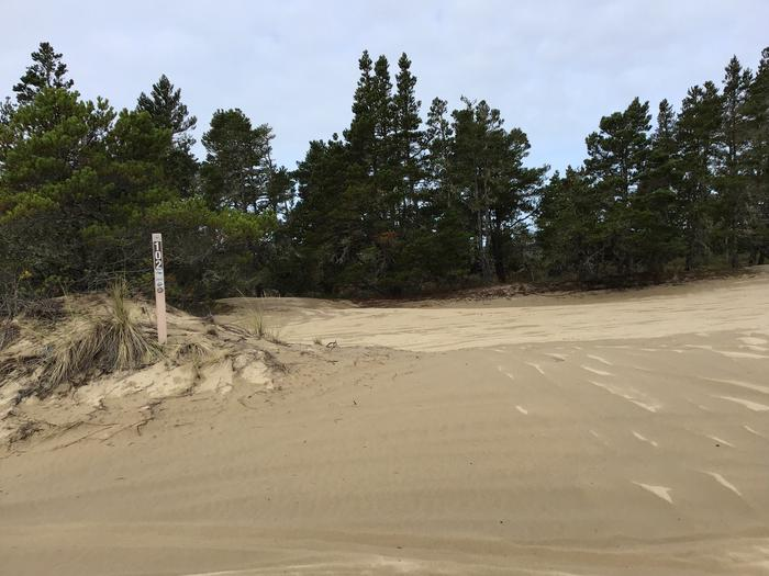 Horsfall Sand Camp Site #102