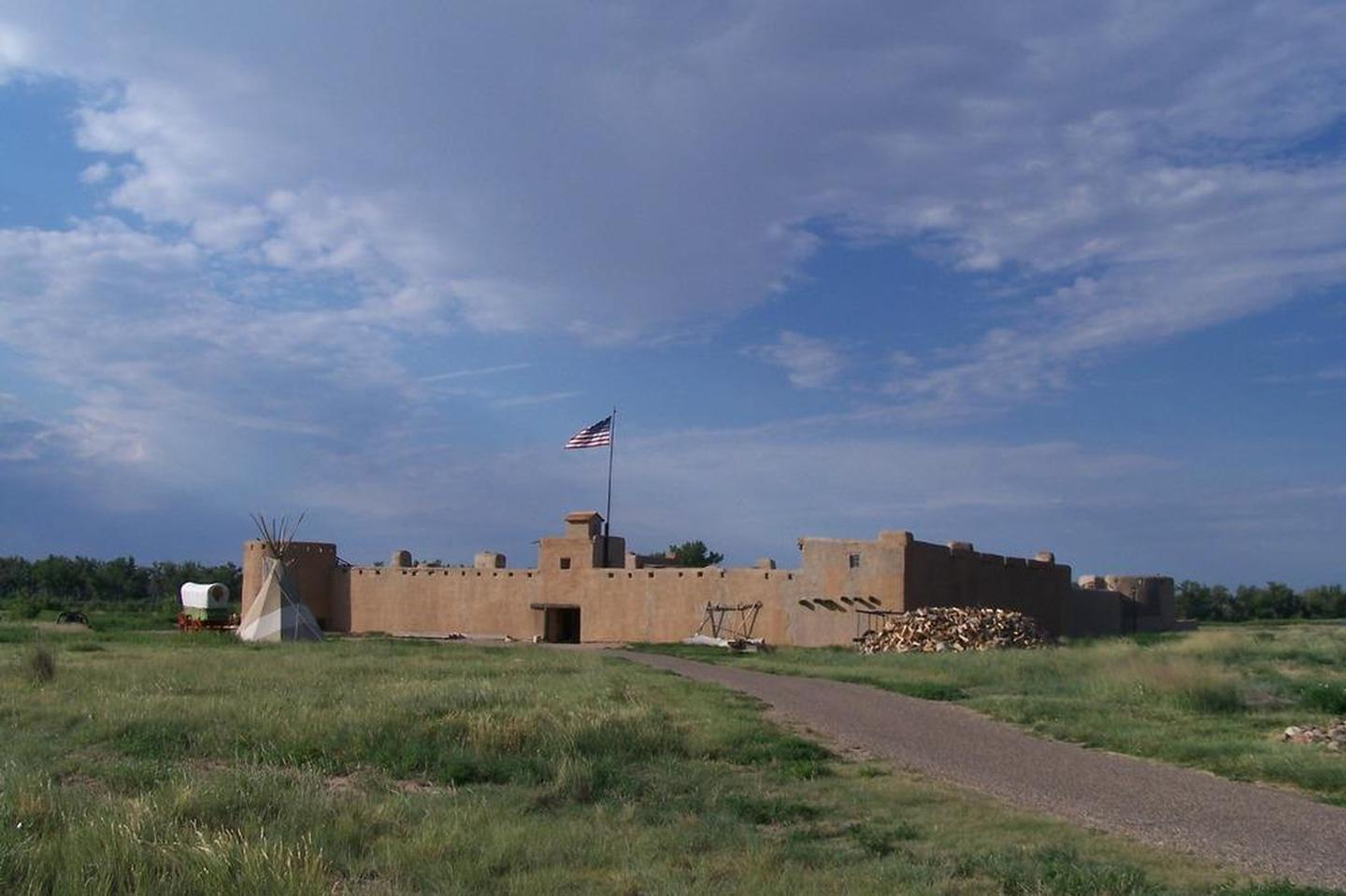 Bent's Old FortFor much of its 16-year history, the fort was the only major permanent white settlement on the Santa Fe Trail between Missouri and the Mexican settlements.