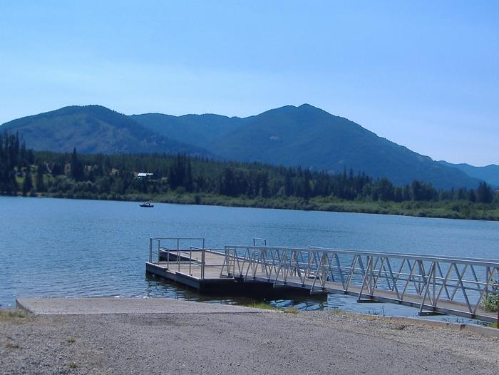 Dorr Skeels Boat Ramp and Dock