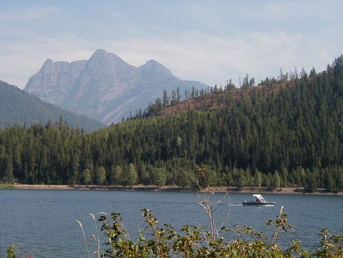 Cabinet Mtn Wilderness as seen from Bull Lake