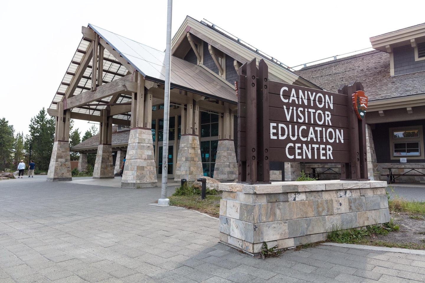 Canyon Visitor Education CenterVisit the Canyon Visitor Education Center to learn about geology of the Yellowstone volcano and get park orientation information.