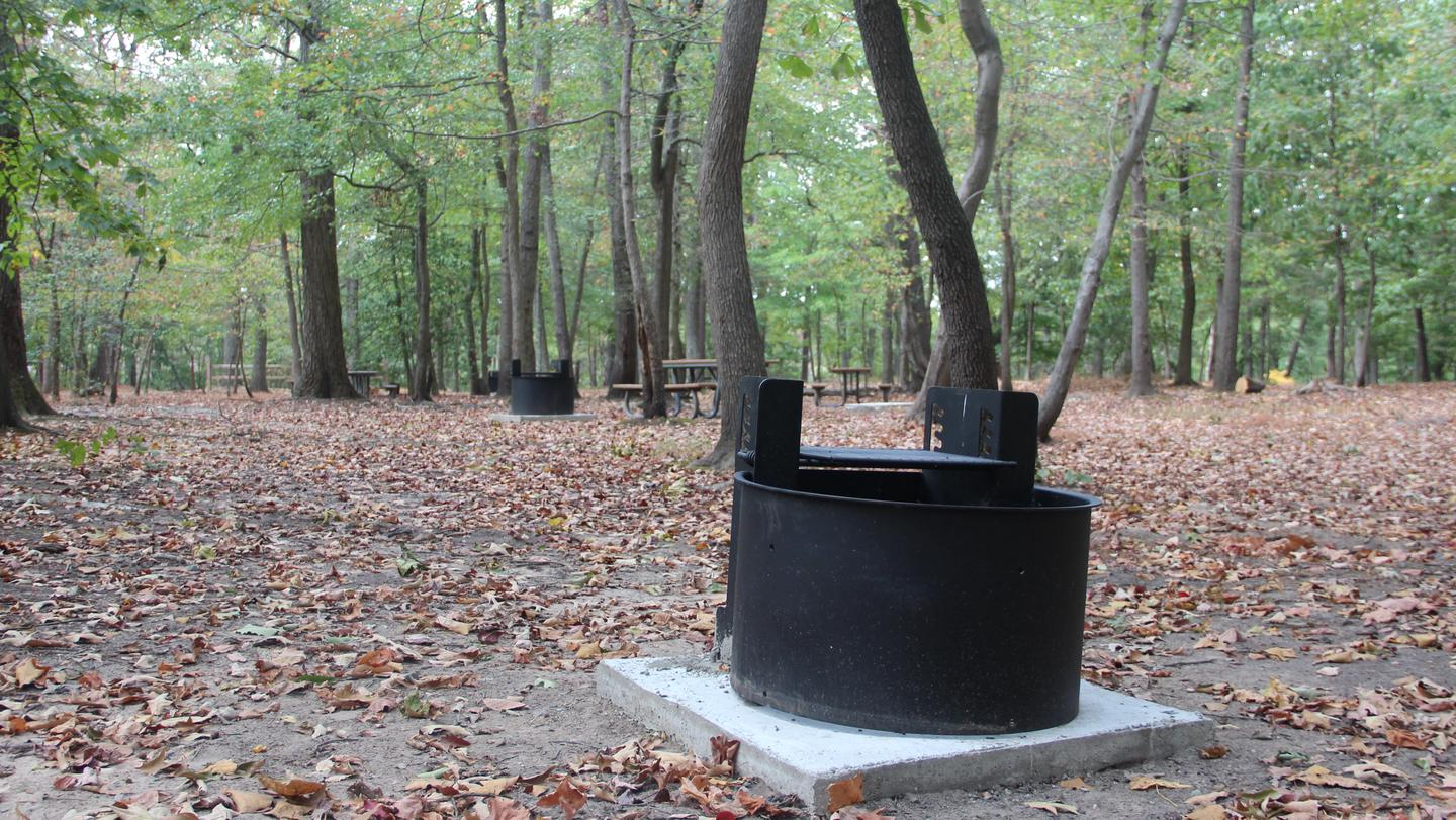 New grills for 2021 in the Greenbelt Park Maryland campgroundEnjoy a beautiful campsite and new grills in the Urban Oasis just 12 miles from the Nation's Capital