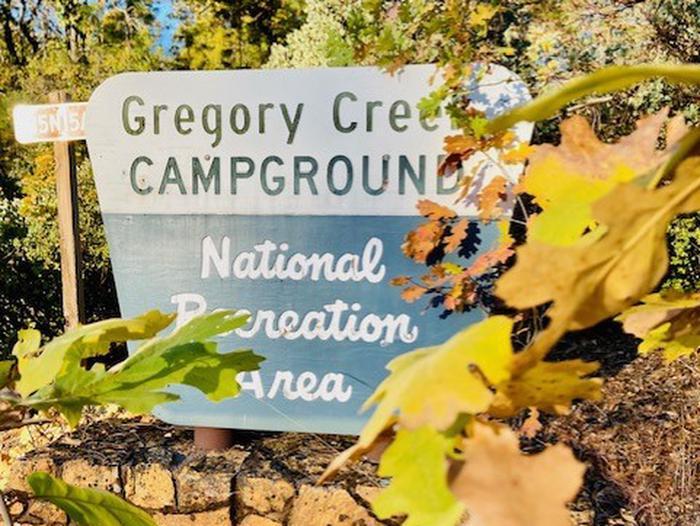 Gregory CreekGregory Creek Sign