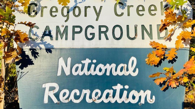 SignGregory Creek Sign