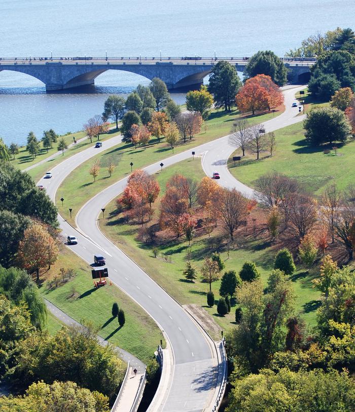 George Washington Memorial ParkwayA beautiful drive