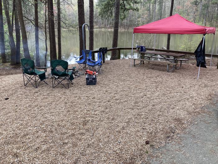 Payne Campground, campsite 52