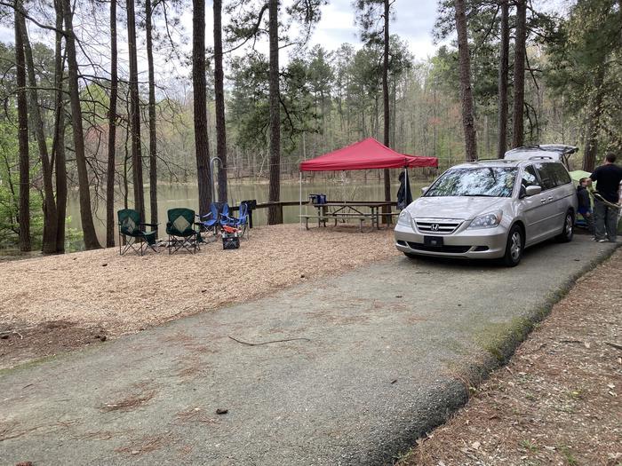 Payne Campground, campsite #52