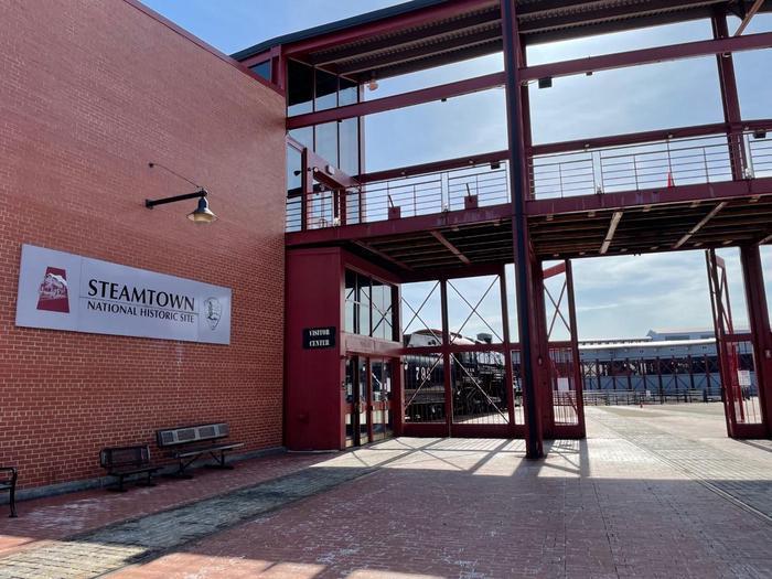 Steamtown NHS Visitor CenterSteamtown NHS visitor center 2021