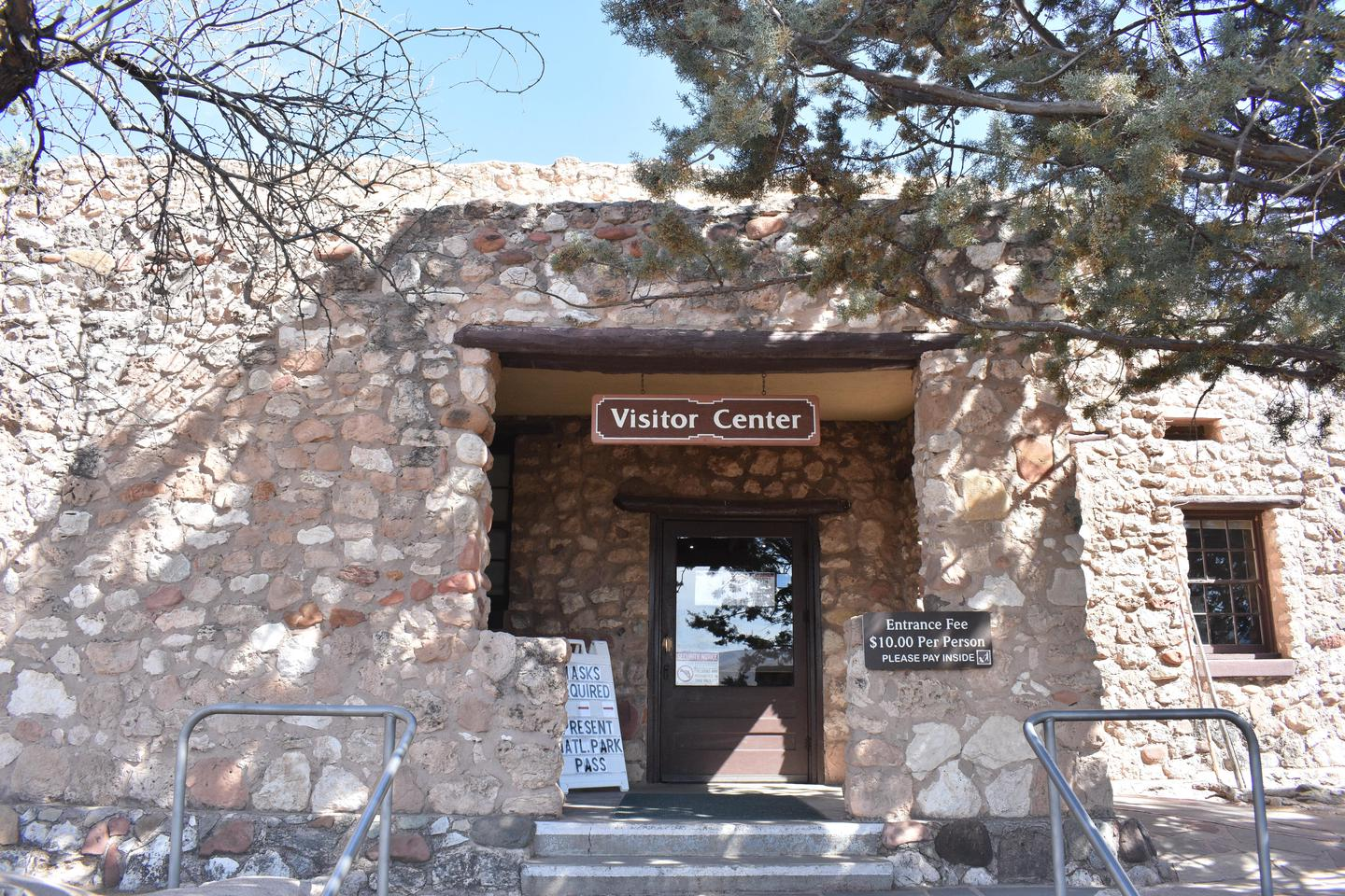 Tuzigoot Visitor Center EntranceThe front entrance to the Visitor Center