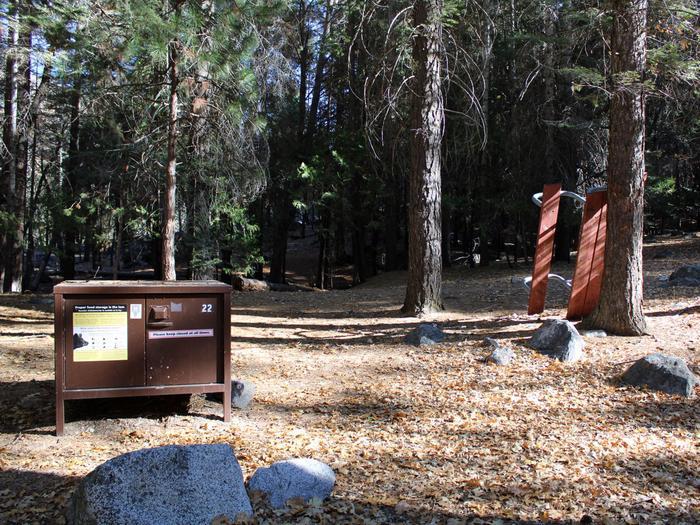 Sheep Creek Site 22