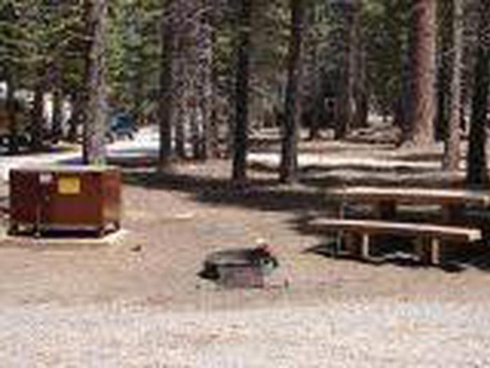 Manzanita Lake campground Site A16Site, Loop: Site A16, Loop A