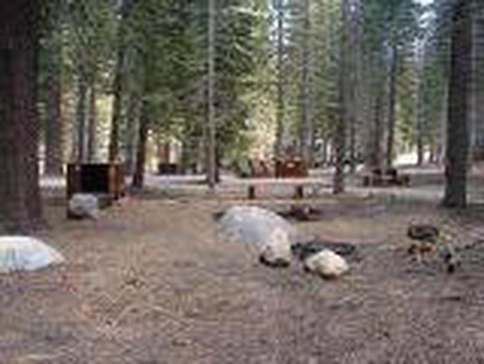 Manzanita Lake Campground Site A17Site, Loop, Site A17, Loop A