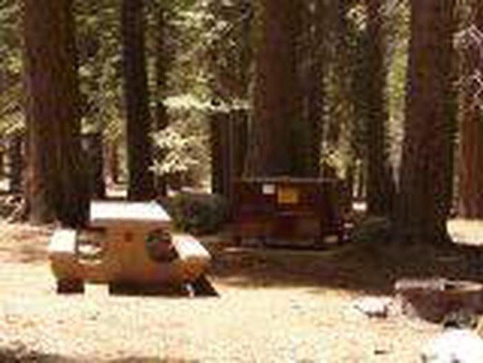 Manzanita Lake Campground Site A18Site, Loop: Site A18, Loop A