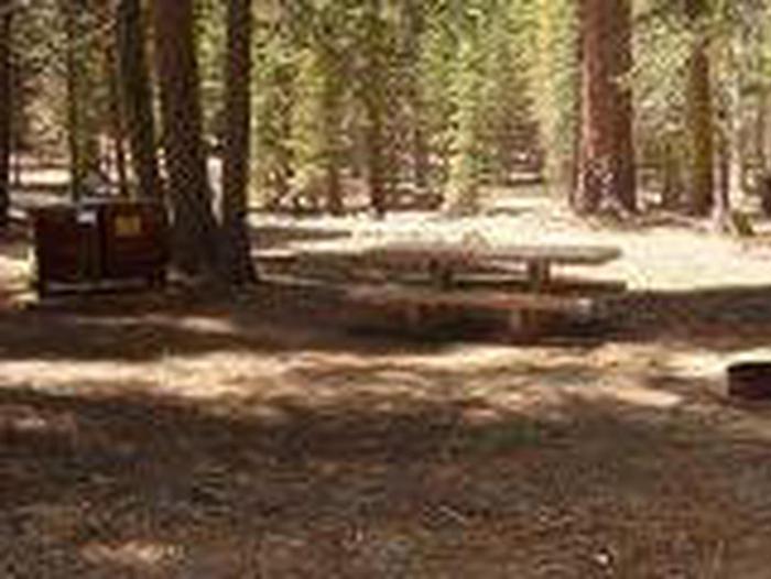 Manzanita Lake Campground Site A21Site, Loop: Site A21, Loop A