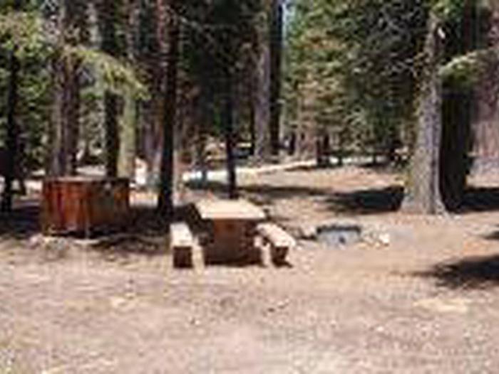 Manzanita Lake Campground Site A22Site, Loop: Site A22, Loop A