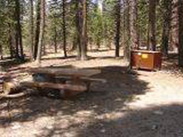 Manzanita Lake Campground Site A23Site, Loop: Site A23, Loop A