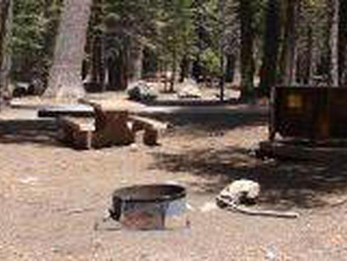 Manzanita Lake Campground Site A25Site, Loop: Site A25, Loop A