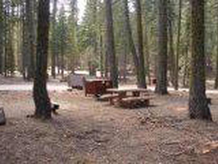Manzanita Lake Campground Site A30Site, Loop: Site A30, Loop A