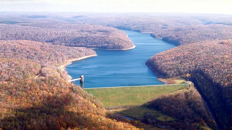 East Branch Dam looking NorthEast Branch Dam