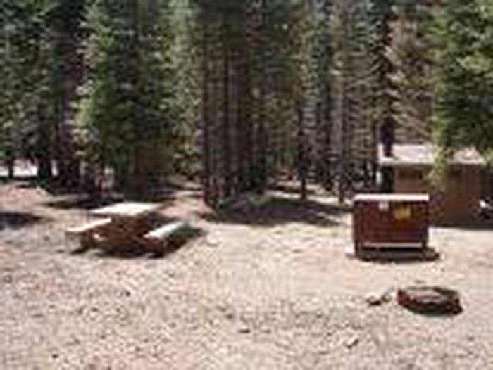 Manzanita Lake Campground Site A37Site, Loop: Site A37, Loop A