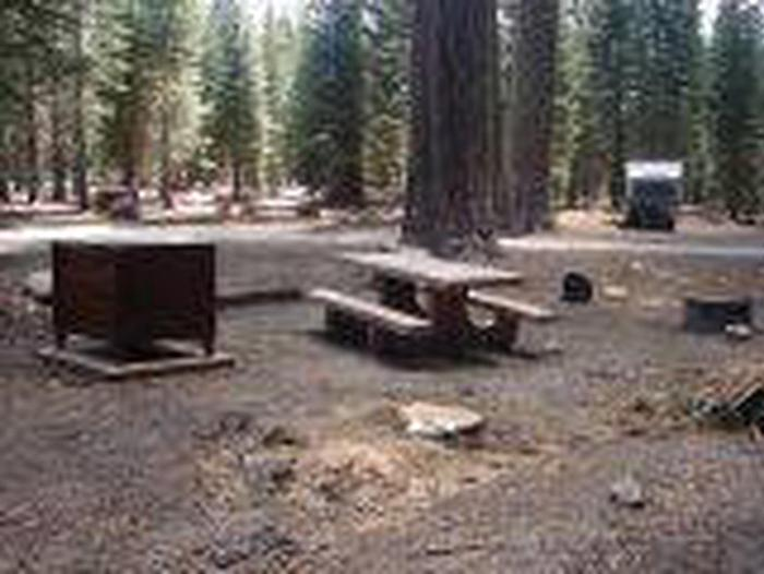 Manzanita Lake Campground Site A41Site, Loop: Site A41, Loop A