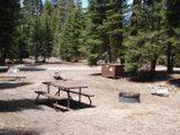 Manzanita Lake Campground Site A43Site, Loop: Site A43, Loop A