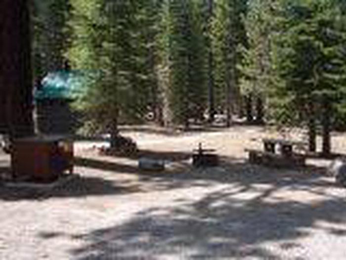 Manzanita Lake Campground Site A44Site, Loop: Site A44, Loop A