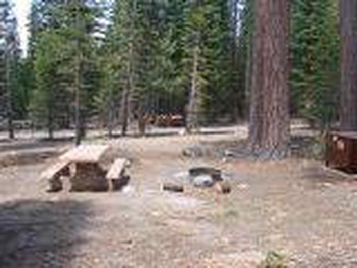 Manzanita Lake Campground Site A45Site, Loop: Site A45, Loop A
