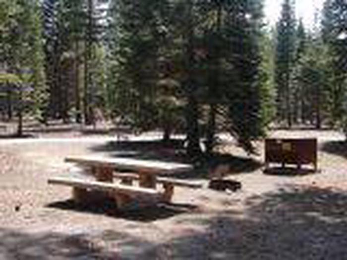 Manzanita Lake Campground Site A46Site, Loop: Site A46, Loop A