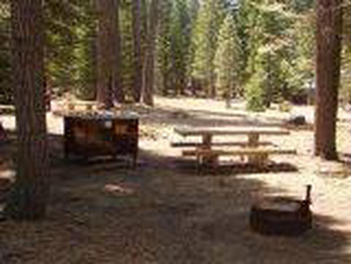 Manzanita Lake Campground Site A47Site, Loop: Site A47, Loop A