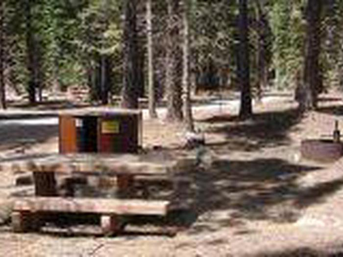 Manzanita Lake Campground Site A48Site, Loop: Site A48, Loop A