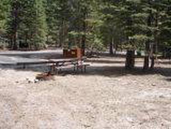 Manzanita Lake Campground Site C17Site, Loop: Site C17, Loop C