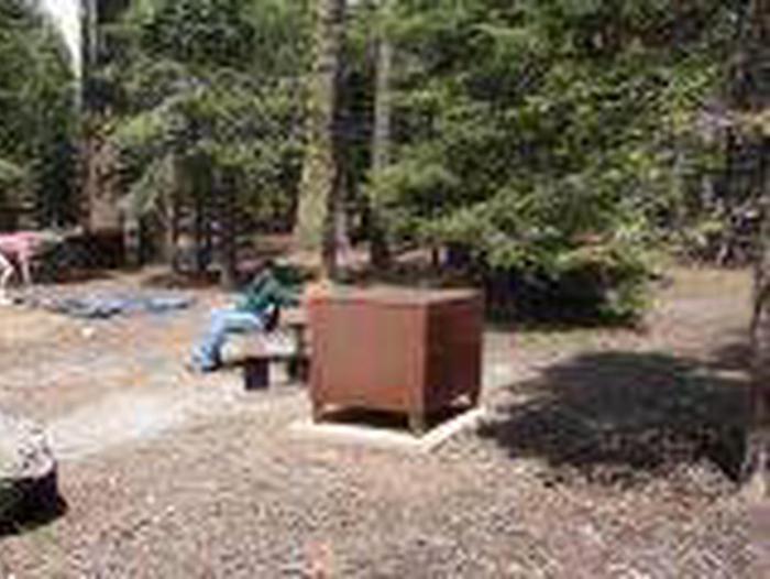 Manzanita Lake Campground Site C15Site, Loop: Site C15, Loop C